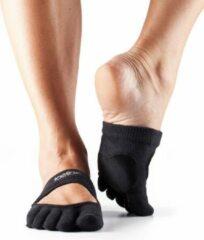 Zwarte Toe Sox Toesox Full Toe Releve - Black