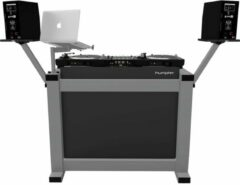 Humpter BASIC MK2 DJ-booth, grijs