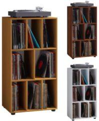 Schallplatten Regal Archiv LP Möbel Archivierung 'Schaltino' VCM Buche