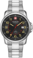Zilveren Swiss Military Hanowa - Swiss Made - herenhorloge Swiss Grenadier 06-5330.04.007