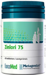 Metagenics Zinlori 75 - 60 Tabletten -Voedingssupplement