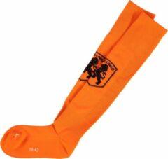 Zwarte Nederlands Elftal Holland oranje voetbalsokken - 39-42 - maat 39-42