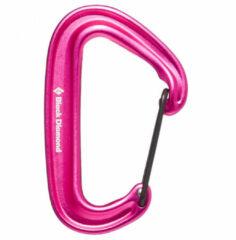 Black Diamond - Miniwire Carabiner - Niet-beveiligde karabiner roze