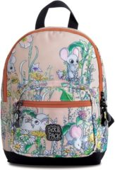 Pick & Pack Cute Mice Backpack S pink multi Kindertas