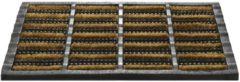 Bruine Hamat Deurmat Mudbuster 40x60cm