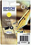 Gele EPSON 16 inktcartridge geel standard capacity 3.1ml 165 paginas 1-pack blister zonder alarm