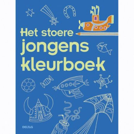 Afbeelding van Bruna Het stoere jongens kleurboek - Boek Deltas Centrale uitgeverij (9044732129)