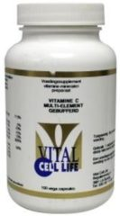 Vital Cell Life Vitamine C multi element gebufferd 100 Capsules