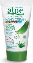 Pharmaid Aloe Treasures Handcrème Bijenwas AHA en Organic Aloë Vera120ml | Natuurlijke Creme