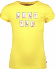Gele Like Flo Unisex t-shirts & polos Like Flo Flo girls jersey tee open shou lemon 104