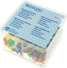 Burobakje Westcott incl. - accessoires. (100x paperclips