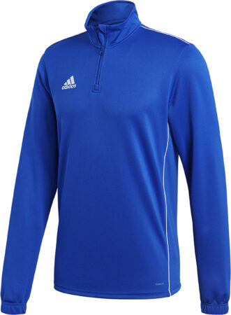 Afbeelding van Adidas Performance Adidas Core 18 Training Top Sportshirt performance - Maat L - Mannen - blauw