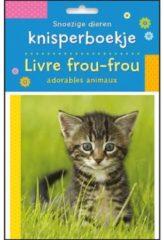 Snoezige dieren knisperboekje / Livre frou-frou