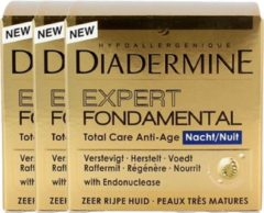 Diadermine Nachtcreme Exp.fondam Voordeelverpakking