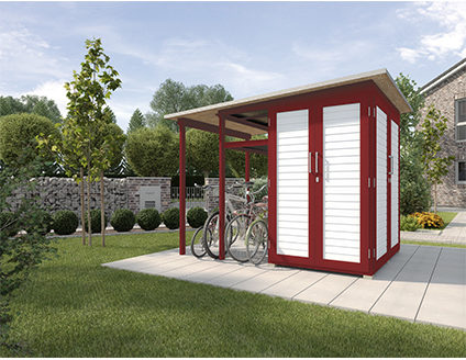 Afbeelding van WEKA | Garten[Q]® Multi uitbreiding | Family Module | Zweeds rood