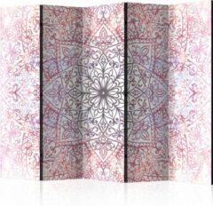 Paarse Kamerscherm - Scheidingswand - Vouwscherm - Ethnic Perfection II [Room Dividers] 225x172 - Artgeist Vouwscherm