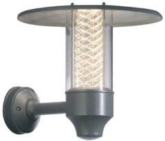Konstsmide Nova 406-310 Buitenlamp (wand) Energielabel: D (A++ - E) Halogeen GU10 50 W Zilver