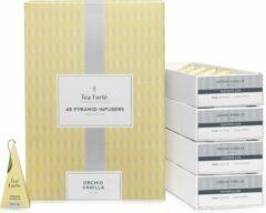 Orchid Vanilla horeca doos 48 piramides Tea Forté