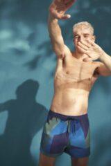 Blauwe Sloggi men Shore Cocos Boxer Midleg-L (6)