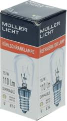 Zanussi Kühlgerätelampe E14 15W 240V für Kühlschrank 2064027010