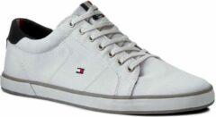 Marineblauwe Tommy Hilfiger Sneakers - Maat 45 - Mannen - wit/ navy/ grijs