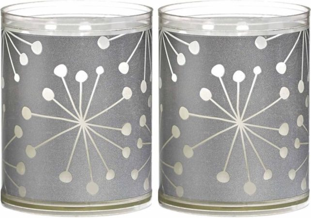 Afbeelding van Zilveren Bolsius KBO SPARKLE LIGHT FLOWPACK 2 - CRYSTAL