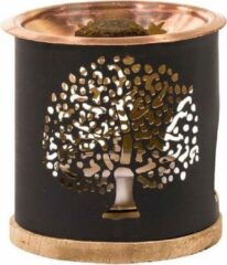 Zandkleurige Aromafume Exotic Incense Diffuser Tree of Life