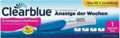 Clearblue Clear test Blue zwangerschap met digitaal display week