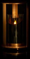 Flambiance Laterne mit LED-Gedenkkerze