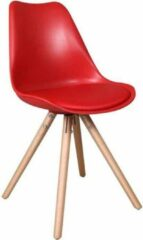 Feel Furniture - Eetkamerstoel - Olan - Rood