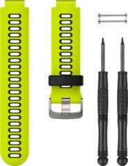 Garmin Gelbes/Schwarzes Uhrenarmband aus Silikon