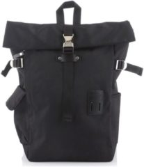Zwarte Harvest Label Norikure Rolltop Backpack black