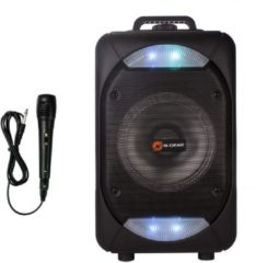Zwarte N-Gear The Flash 610 (THEFLASH610) - Bluetooth Speaker Trolley
