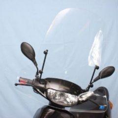 Windscherm hoog helder Peugeot V-Clic, Berini Speedy, Btc City, Iva Jet, Killerbee Roma, Senzo Urban, Turbho CS50- Scoot Care Original.