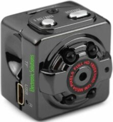 Zwarte Spycams4u.be Verborgen (knoop) camera's HD 1080P - Mini camera - Spy camera
