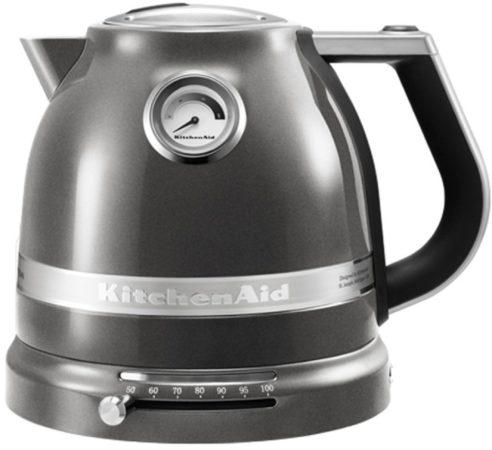 Afbeelding van Zilveren Kitchen Aid KitchenAid 5KEK1522EMS Waterkoker - Grijs