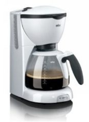 DeLonghi Braun Café House PurAroma KF520/1 - Koffiezetapparaat - Wit