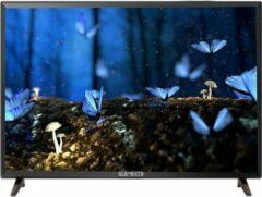 "Zwarte KB-ELEMENTS ELEMENTS SMART TV 40"" INCH ANDROID 9.0"