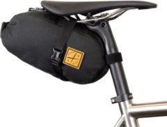 Restrap - Saddle Pack - Fietstas maat 4,5 l, zwart/grijs