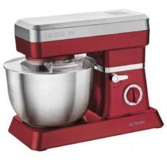Rode Bomann Keukenmachine 1200 W rood en zilver KM 398 CB