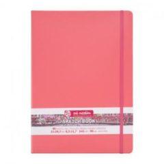 Royal Talens Talens Art Creation Schetsboek A4 21x30 cm 140gr 80 vel Koraalrood