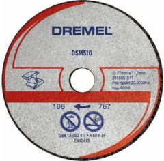 Dremel S510JA DSM20 Trennscheibe für Metall und Plastik 2615S510JA
