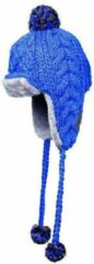 Sinner Jiminy Fur - Muts - Volwassenen - Unisex - One size - Blauw