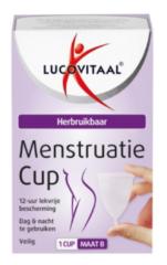 Transparante Lucovitaal Vagimed Menstruatie Cup Maat B
