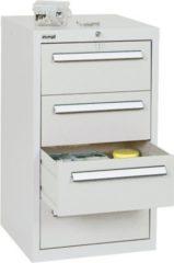 Stumpf Metall Stumpf® ST 420 plus Schubladenschrank mit 4 Schubladen, lichtgrau - 90 x 51,5 x 50 cm