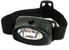 Zwarte Tom Dard Head Lamp 5-led