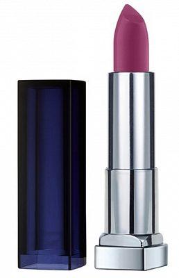 Afbeelding van Donkerrode Maybelline Color Sensational Loaded Bolds - 886 Berry Bossy - Lipstick lippenstift Violet Matte