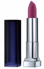 Donkerrode Maybelline Color Sensational Loaded Bolds - 886 Berry Bossy - Lipstick lippenstift Violet Matte