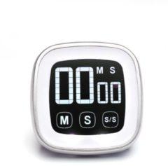Witte Digitale Timer - Op- en Aflopend - LCD Scherm - MasterClass