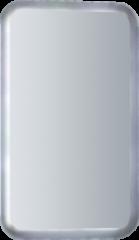 Badstuber Resty spiegel met indirecte verlichting 73x45cm